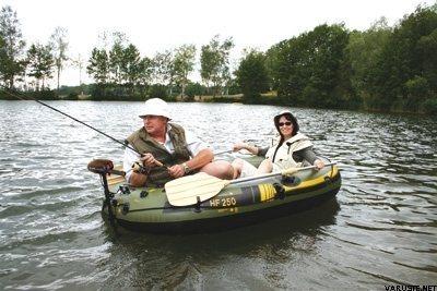 Suurenna klikkaamalla for Fish hunter raft