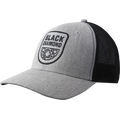 Black Diamond BD Trucker Hat Heathered Aluminum / Black
