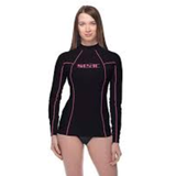 Seacsub Rash Guard T-Sun Long Lady Black/Pink