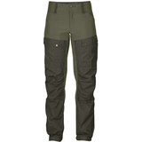 Fjällräven Keb Trousers Curved Women Deep Forest/Laurel Green (662-625)