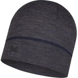 Buff Lightweight Merino Wool (1 Layer Hat) Charcoal Grey Multi Stripes 4950ef8fed78