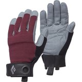 Black Diamond Crag Gloves Womens Bordeaux