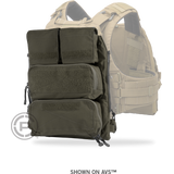 Crye Precision POUCH ZIP-ON PANEL 2.0 Ranger Green