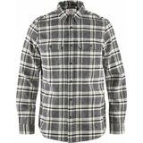 Fjällräven Övik Heavy Flannel Shirt Mens Dark Grey (030)