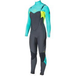 Rip Curl Womens FlashBomb 5/3GB C/Z Steamer 2015 (WSM4GG), 74 Turquoise, 10
