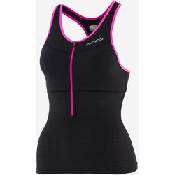 Orca 226 Support Top Women 2016, Black/Poppy Pink, S / 10