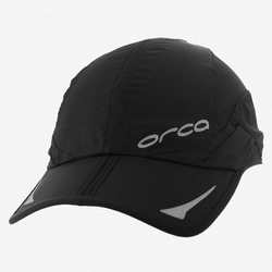 Orca Unisex Cap with Foldable System, Black, S/M