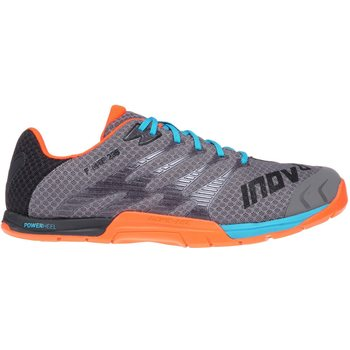 Inov-8 F-lite 235 Men, Grey/Blue/Orange, UK 11.5 (EUR 46.5)