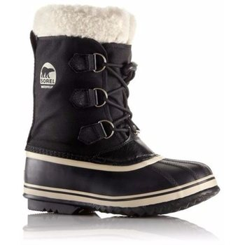 Sorel Childrens Yoot Pac Nylon, Black, 25