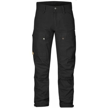 Fjällräven Keb Trousers Regular housut, Black/Black (550-550), 50