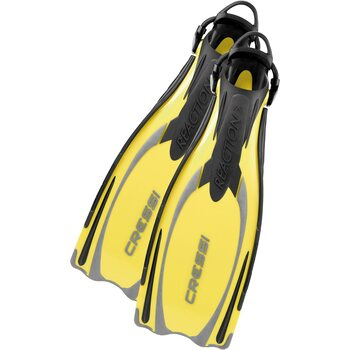 Cressi Reaction EBS, Yellow / Silver, M/L