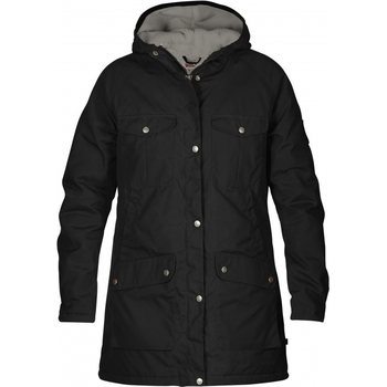 Fjällräven Greenland Winter Parka W, Black / Grey (550-020), XS