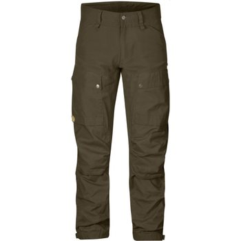 Fjällräven Keb Trousers Regular housut, Khaki (255), 52