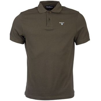 Barbour Sports Polo, Dark Olive, M