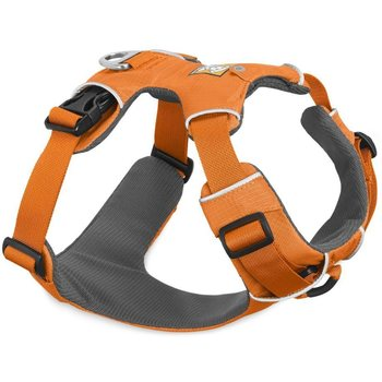 Ruffwear Front Range Harness, Orange Poppy, XXS / 33-43 cm