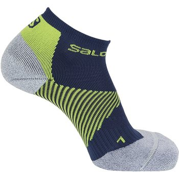 Salomon Speed Support, Dress Blue/Lime Punc, M (EUR 39-41)