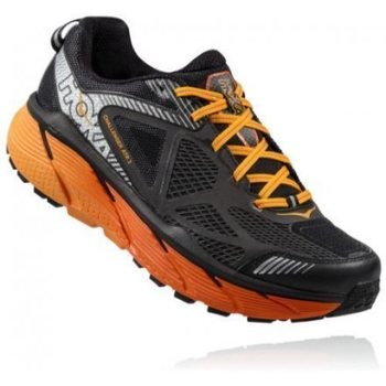 Hoka Challenger ATR 3 Mens, Black / Red Orange, EUR 46 (US 11.5)