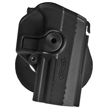 IMI Defense Polymer Retention Paddle Holster Level for Walther PPX, Black