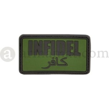 Clawgear Infidel Rubber Patch, Forest
