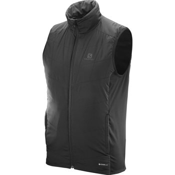 Salomon Drifter Mid Vest M, Black / Iron Forged, S