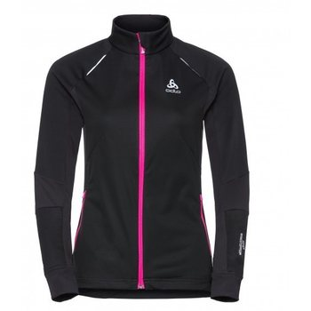 Odlo Jacket Aeolus Windstopper Women, Black-Pink (6009), L