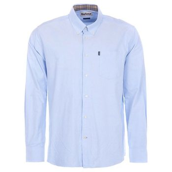 Barbour The Oxford Shirt, Sky Blue, S
