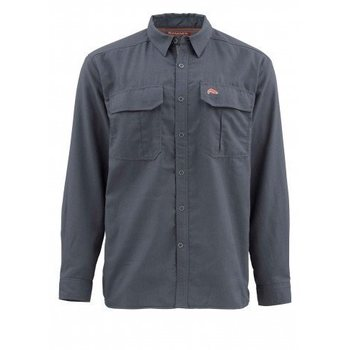 Simms ColdWeather LS Shirt, Oxford Blue, L