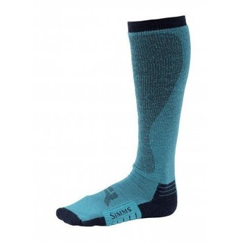 Simms Women's Guide Midweight Sock, Lagoon, S