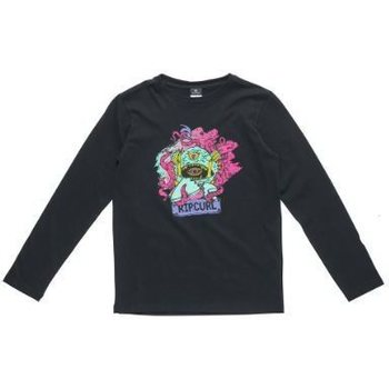 Rip Curl The Monster Ls Tee, Black, 14 / 160 cm