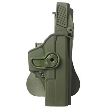 IMI Defense Polymer Retention Paddle Holster Level 3 for Sig Sauer, OD Green