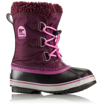Sorel Youth Yoot Pac Nylon, Purple Dahlia, 33 (US 2)