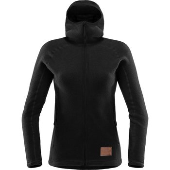 Haglöfs Micron Wool Hood Women, True Black, S