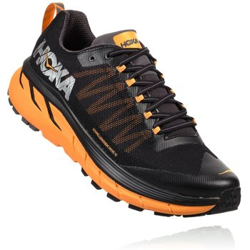 Hoka Challenger ATR 4 Mens, Black / Kumquat, EUR 40 2/3 (US 7.5)