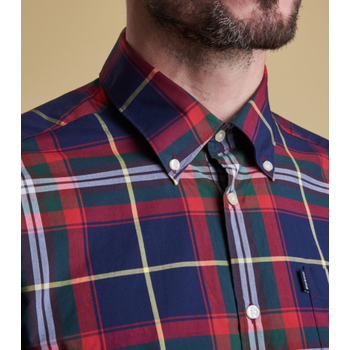 Barbour Oscar Shirt, Navy, S