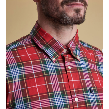 Barbour Oscar Shirt, Red, S