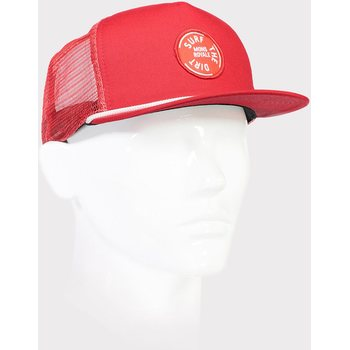Mons Royale The ACL Trucker Cap Surf, Bright Red
