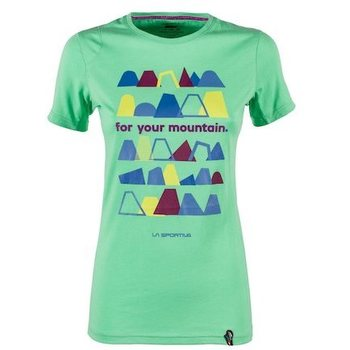 La Sportiva For Your Mountain T-Shirt W, Jade Green, L