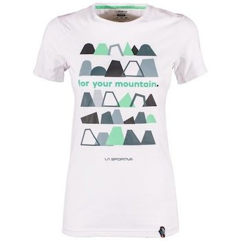 La Sportiva For Your Mountain T-Shirt W, White, L