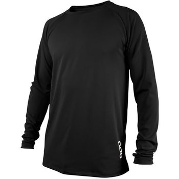POC Resistance DH LS Jersey, Musta, XL