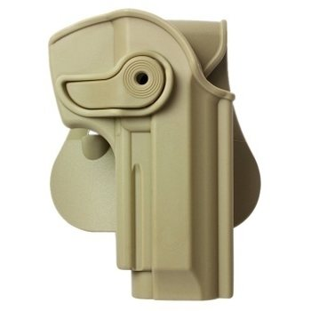 IMI Defense Retention Paddle Holster Level 2 for Beretta 92 – Right hand, Tan