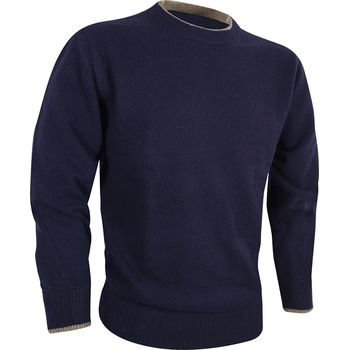 Jack Pyke Ashcombe Crewknit Pullover, Navy, M