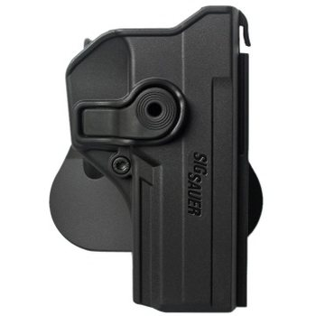 IMI Defense Polymer Retention Paddle Holster for Sig Sauer P250 Full Size, P320, Black