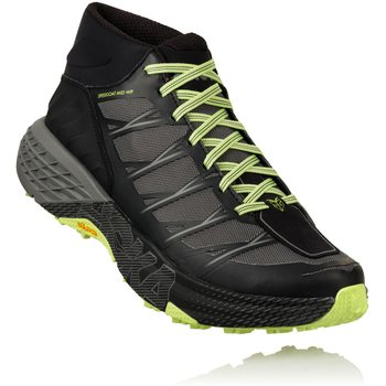 Hoka Speedgoat Mid WP Mens, Black / Steel Grey, EUR 45 1/3 (US 11.0)