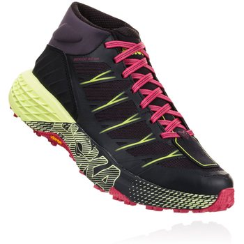 Hoka Speedgoat Mid WP Womens, Black / Nine Iron, EUR 36 (US 5.0)