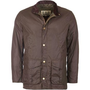 Barbour Hereford Wax Jacket, Peat, XL