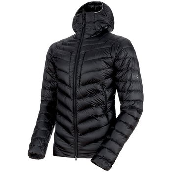 Mammut Broad Peak Insulated Hooded Jacket Men, Black - Phantom, S