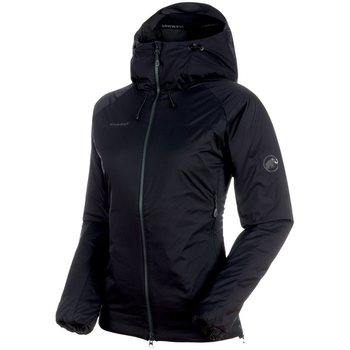 Mammut Rime IN Flex Hooded Jacket Women, Black - Phantom, M