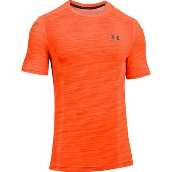 Under Armour Threadborne Fitted Short Sleeve, Magma Orange (890), S