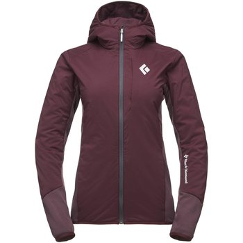 Black Diamond First Light Hybrid Hoody W, Bordeaux, M
