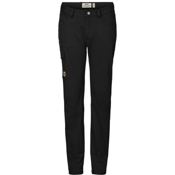 Fjällräven Greenland Stretch Trousers W Regular, Black (550), 36